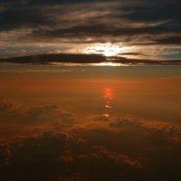 Закат над речкой Ея. :: Alexey YakovLev