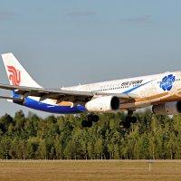 14 сентября 2015 года. Airbus  A330-243, аэропорт Минск-2 (UMMS) :: Сергей Коньков