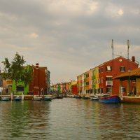 Разноцветный остров Бурано, Италия :: Евгений Виноградов
