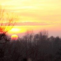 декабрьский закат :: виктор омельчук