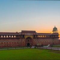 Индия. Красный форт.Дворец Падишаха. :: юрий макаров