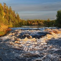 Карелия, река Чирка-Кемь, Пулопорог :: Валерий Толмачев