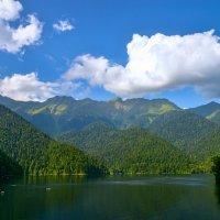 Озеро Рица :: Юрий Бичеров