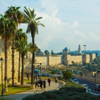 Иерусалим, вид на Старый город :: Игорь Герман