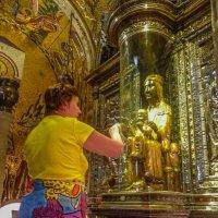 чудотворная статуя Девы Марии :: Дмитрий Лупандин