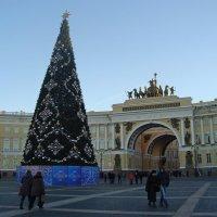 Главная ёлка на Дворцовой площади :: Елена Павлова (Смолова)