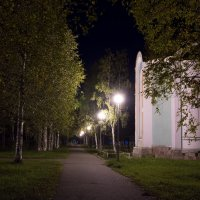 Часовня Александр Невского, Северодвинск, сентябрь :: Александр Паршев