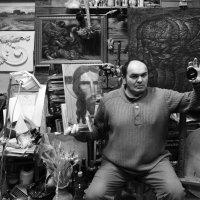 автопортрет в мастерской :: Владимир Бурдин