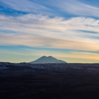 Эльбрус перед закатом :: Анна Брацукова