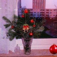 А за окном вечер :: Nina Yudicheva