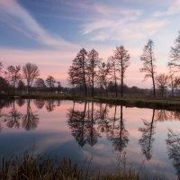 Закат на озере :: Dmitriy Stoyanov