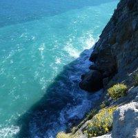 Вид на море от Ласточкина гнезда.. :: Наиля
