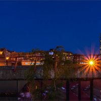 Огни ночного города :: Denis Aksenov