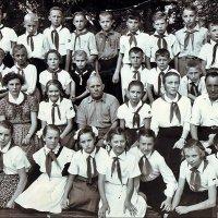 Пионерский лагерь.   1961 год :: Нина Корешкова