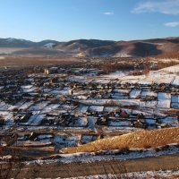По дороге на Байкальский горнолыжный курорт... :: Александр Попов