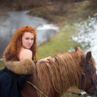 Девушка на коне)) :: Mari E