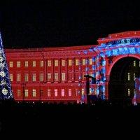 Дворцовая площадь, 24.12. :: Олег Попков