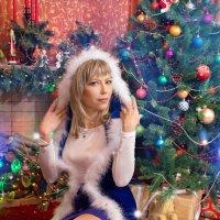 А вот и снегурочка в нашей сказке появилась! )) :: Райская птица Бородина