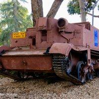 Английская бронемашина, времён подмандатной Палестины. :: Николай Волков