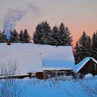 Зимнее утро :: Татьяна Захарова