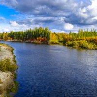 Осенние краски Пякупура :: Александр Пахилов