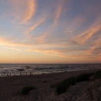 Тёплый вечер у моря. Балтика. :: Elena N