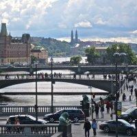в Стокгольме час пик :: Елена
