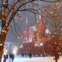 Москва предновогодняя :: НАТАЛИ natali-t8
