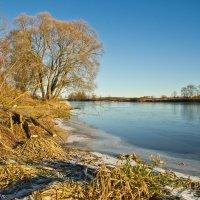 Декабрьская река Дубна. :: Виктор Евстратов