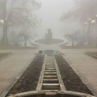 Каскадная лестница. Железноводск. :: Леонид Сергиенко