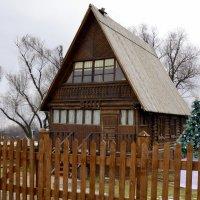 Ёлка в сельской школе (реконструкция) :: Владимир Болдырев
