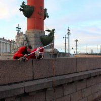 Ловим шапку Деда Мороза :: Вера Моисеева