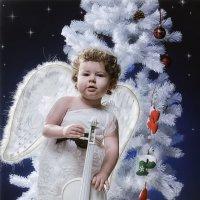 Новогодний ангел :: Александр Шевелёв