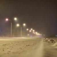 Снежный вечер :: юрий Амосов