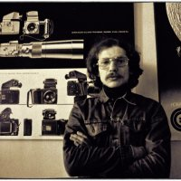 Портрет дизайнера 1975 :: Цветков Виктор Васильевич