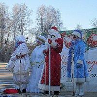 Дед Мороз пришёл к нам в гости . :: Мила Бовкун