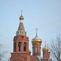 Новый храм в городе Йошкар-Ола :: Galina