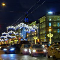Предновогодний Петербург :: Инна