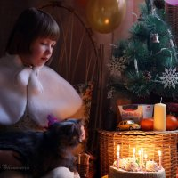Новогодний День рождения :: Вера Шамраева