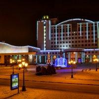 Ночной Белгород. :: ALEXANDR L