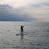 Одинокий спортсмен :: valeriy khlopunov