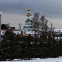 зимний пейзаж :: Юлия Денискина