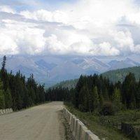 Дорога в горы... Пора подумать о летнем отдыхе :: Александр Попов