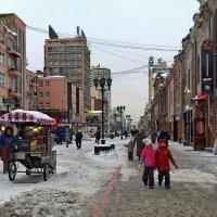 Пешеходная улица Вайнера. :: Пётр Сесекин