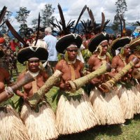 Танцы аборигенов.Папуа Новая Гвинея :: Антонина