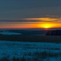 Зимний закат :: Константин Сафронов