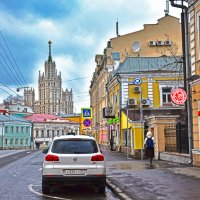 Московская улочка :: Viktor Pjankov