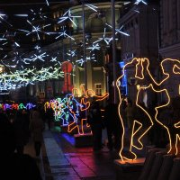 Новогодние улицы Москвы :: Ангелина Божинова