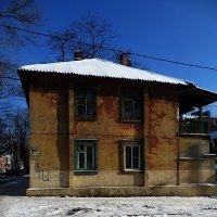 утро 1 января. дом на углу :: Николай Семёнов