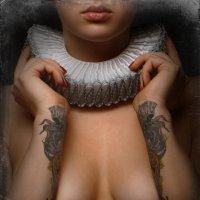 Девушка с татуировкой :: Sanan Aliyev